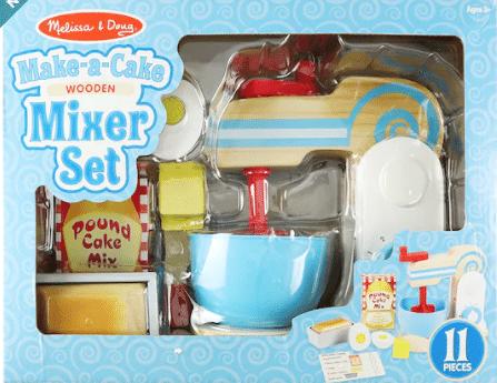 Melissa & Doug: Make-a-Cake Wooden Mixer Set, Smoothie Maker Blender Set & More