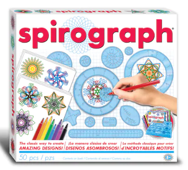 50-Piece The Original Spirograph Design Set w/ Markers