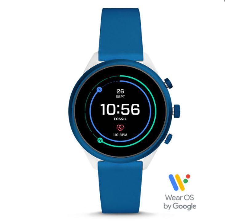 Fossil Sport Smartwatch (41mm or 43mm, Various Colors)