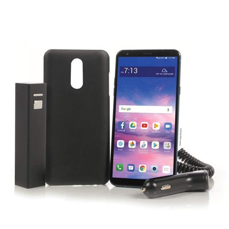 TracFone 16GB LG Stylo 4 Prepaid Phone + 1500 MinsTexts/MB Data
