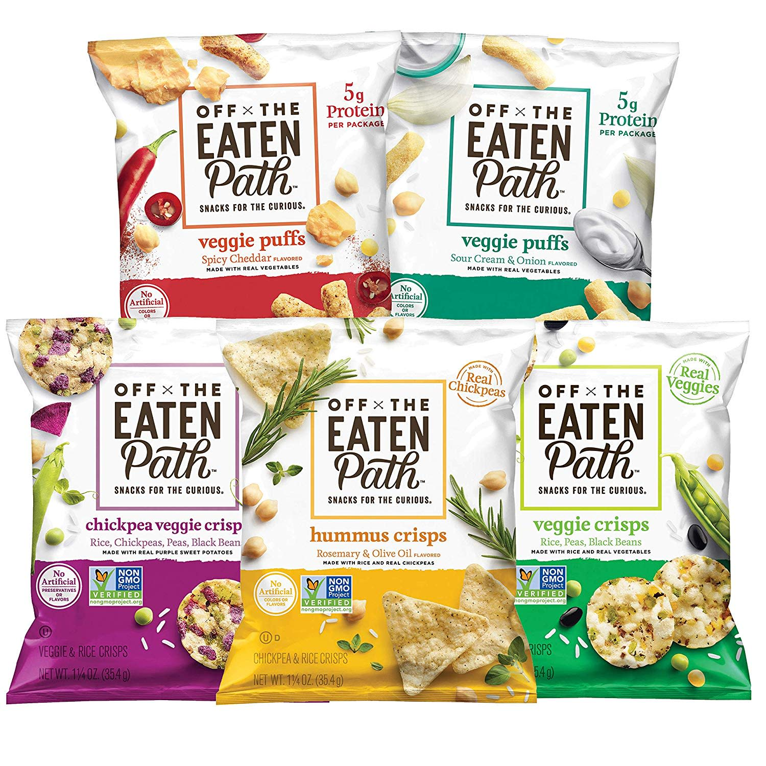 Off the Eaten Path Sampler 16-Count Variety Pack