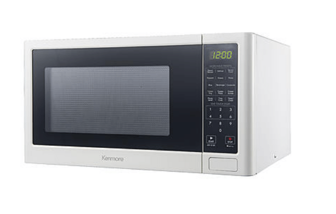 Kenmore 1.2 Cu. Ft. Microwave Oven (White) + $15 in SYW Points