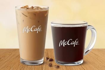 McDonald's: Any Size McCafé Hot or Iced Drip Coffee