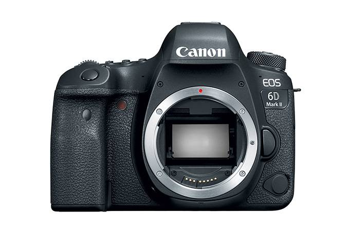 Canon EOS 6D Mark II DSLR Camera (Body only, Refurbished)