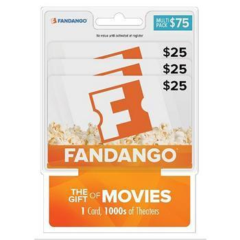 BJ's Wholesale Members: Gift Card Sale: $25 Uber $21, $75 Fandango
