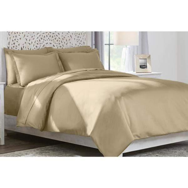 Home Decorators Collection 3-Pc Duvet Cover Set (300TC Cotton Sateen, Full/Queen)