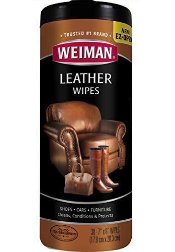 Weiman 皮革清洁滋养护理湿巾
