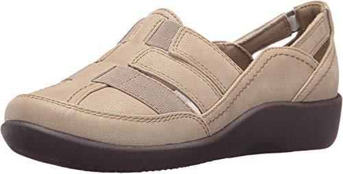 今日特价!超级舒服又护脚的Clarks女士凉鞋,多色可选