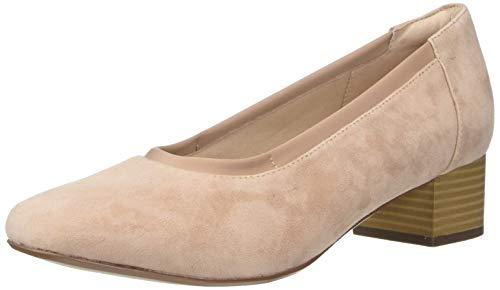 Clarks 女士舒适粗跟鞋