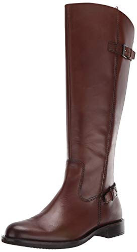 ECCO 女式真皮长筒靴