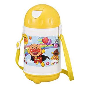 LEC面包超人水壶 儿童宝宝吸管杯 480ml 高款