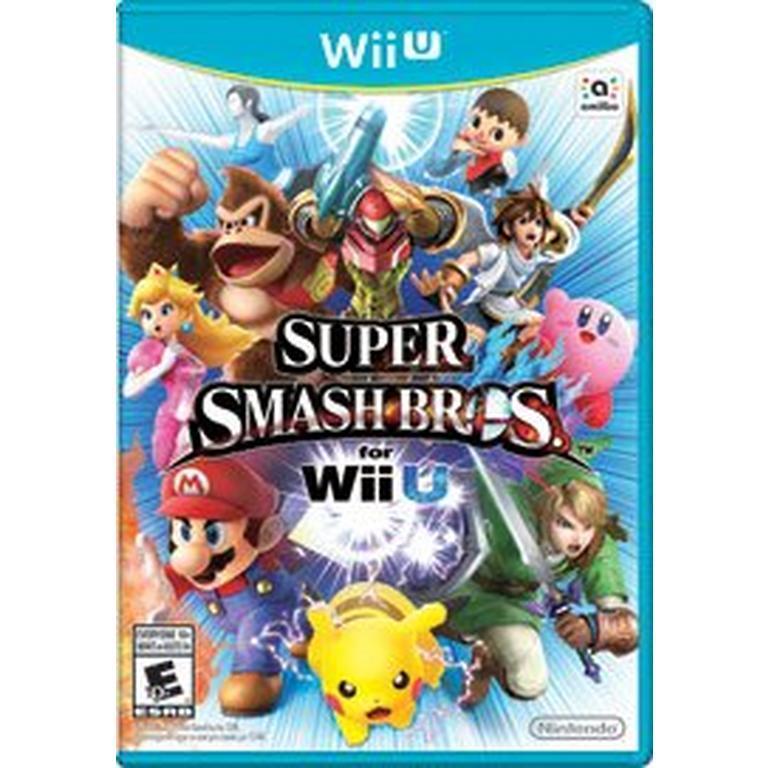 Pre-Owned Nintendo Wii U Games: Super Smash Bros., Super Mario Maker