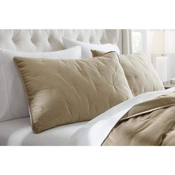 Home Decorators Collection 3-Pc Braelyn Velvet Quilt Set: King $17.45, Full/Queen