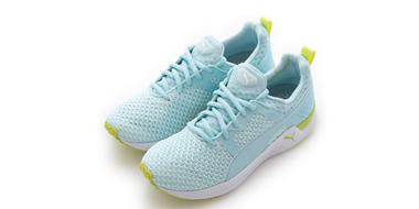蕾哈娜同款:PUMA彪马Pulse XT Knit女子训练鞋 水蓝色