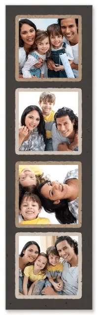 "Walgreens Photo: Set of 4 2""x7"" Customized Bookmarks"
