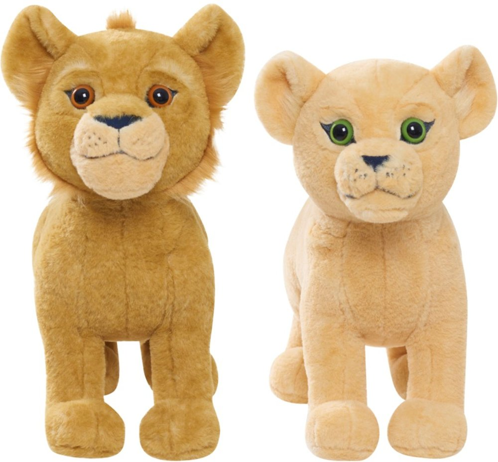 "Disney The Lion King 14"" Talking Plush (Nala or Simba)"