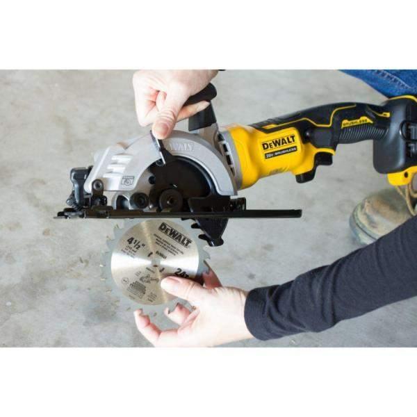 DeWalt ATOMIC 20-Volt MAX Cordless 4-1/2 in. Circular Saw (Tool-Only) $99.00