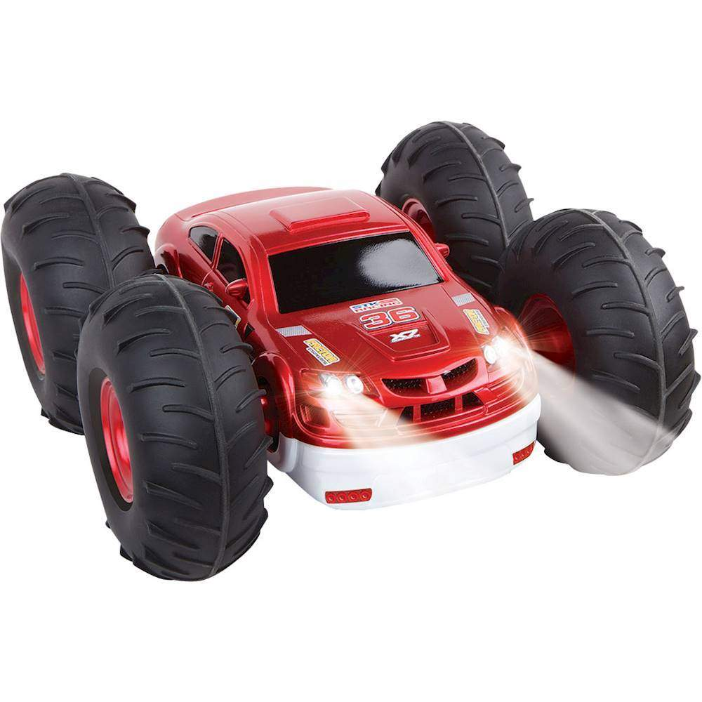 Black Series Remote Control Flip Stunt Rally Car