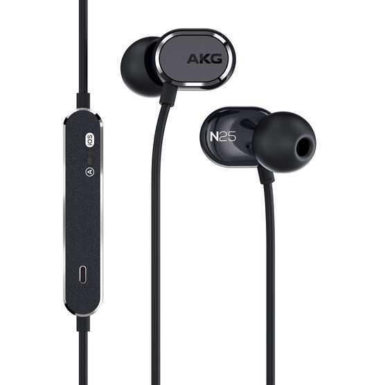 AKG N25 Dual Dynamic Driver In-Ear Headphones (Various Colors)