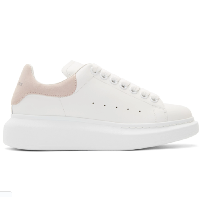 Alexander McQueen女士小白鞋