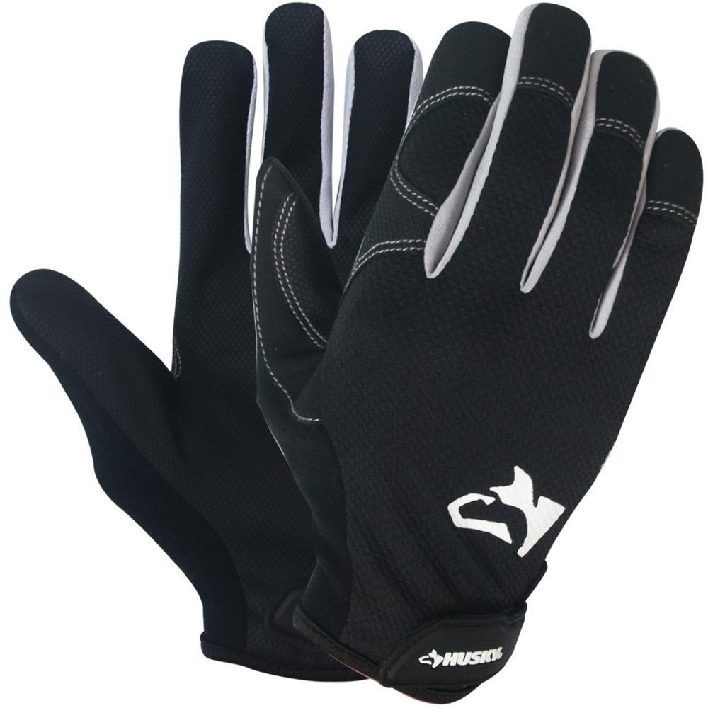 5-Pk Husky Mechanic Gloves (M) $10.35, 3-Pk Husky Light Duty Work Gloves (L, XL)