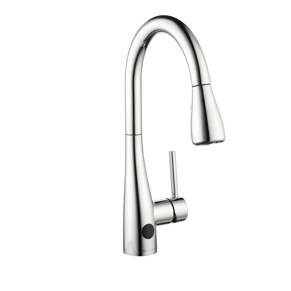Glacier Bay Touchless Kitchen Faucet w/ Pull-Down Sprayer (Chrome)