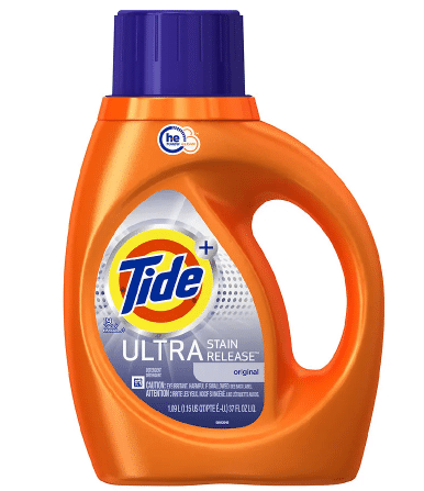 Tide Liquid Detergent: 37-Oz Ultra Stain Release HE or Downy April Fresh