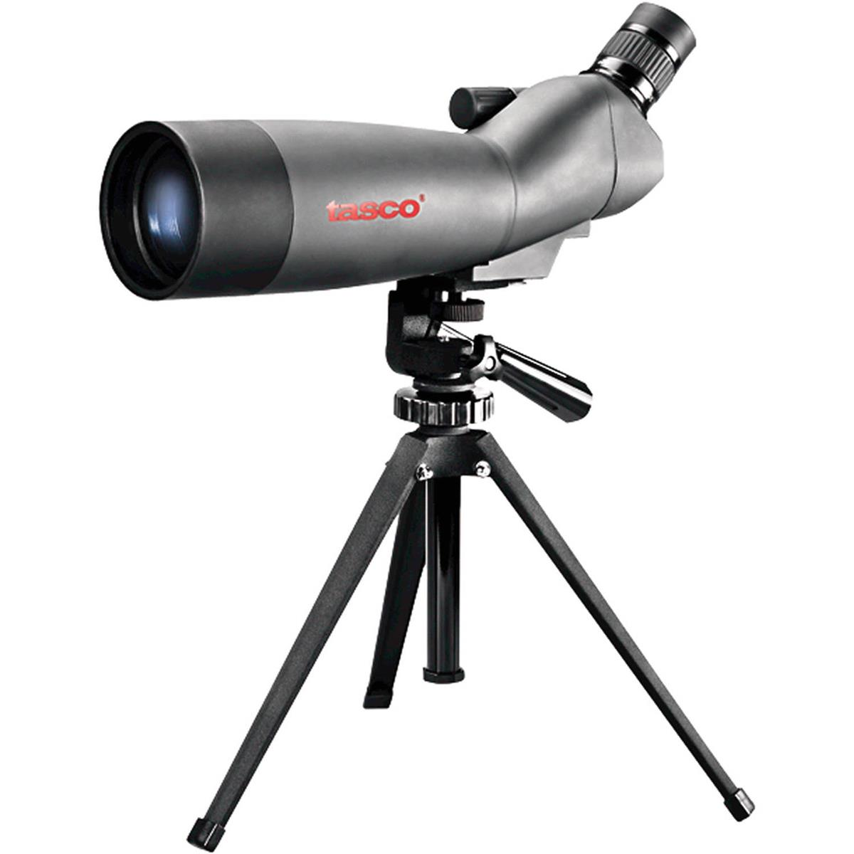 Tasco 20-60x60mm Spotting Scope with 45 Angled Viewfinder