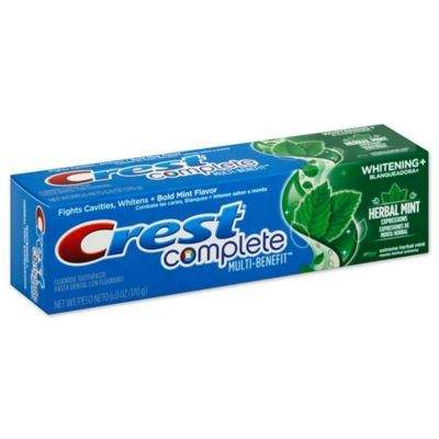 Crest Toothpaste: 6oz. Crest Complete Whitening Expressions Toothpaste