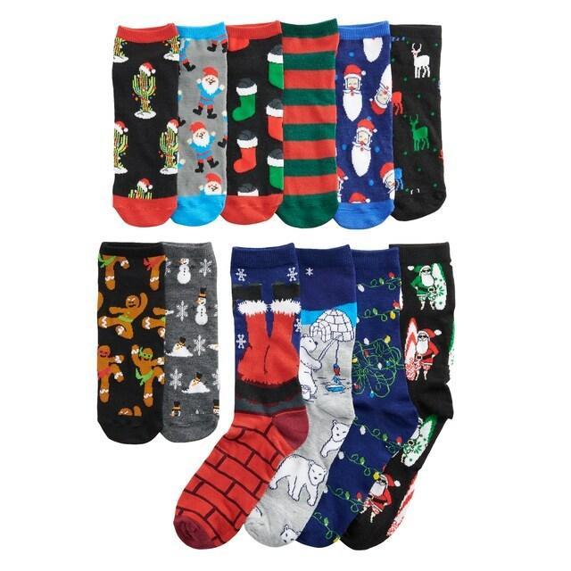 Kohl's Cardholders: 12 Days of Socks Men's Gift Packs: Biker Santa