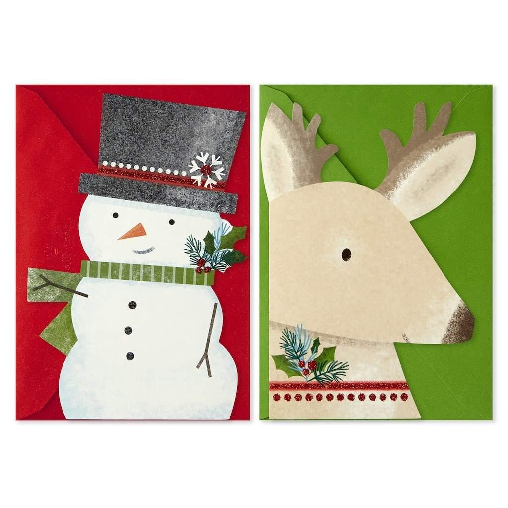 Kohl's Cardholders: 40-Count Hallmark Reindeer & Snowman Cards