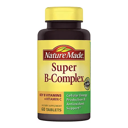 120-Count Nature Made Super B-Complex Tablets