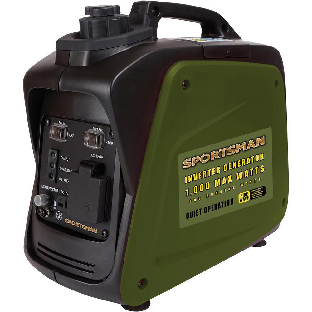 Generators: Sportsman 1,000/800-Watt Gas Powered Digital Inverter Generator