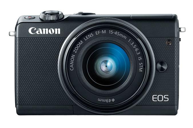 Canon EOS M100 EF-M 15-45mm f/3.5-6.3 IS STM Lens Kit (Refurbished)