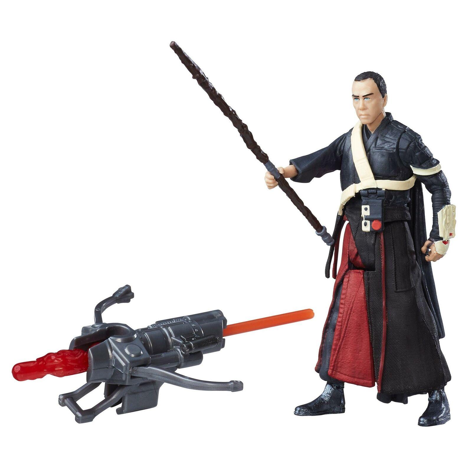 "Disney Star Wars 3.75"" Figures: Rey $3.20, Kylo Ren or Jyn Erso $3, Chirrut Imwe"