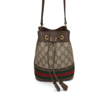 Gucci Beige Mini GG老花水桶包
