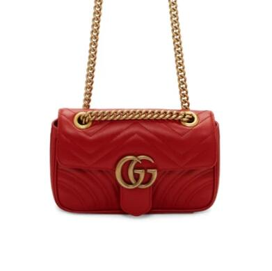 Gucci Mini Marmont斜挎包