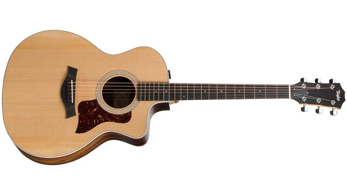 Taylor Guitars: 214ce Acoustic-Electric Guitar + Acoustic Baby Guitar