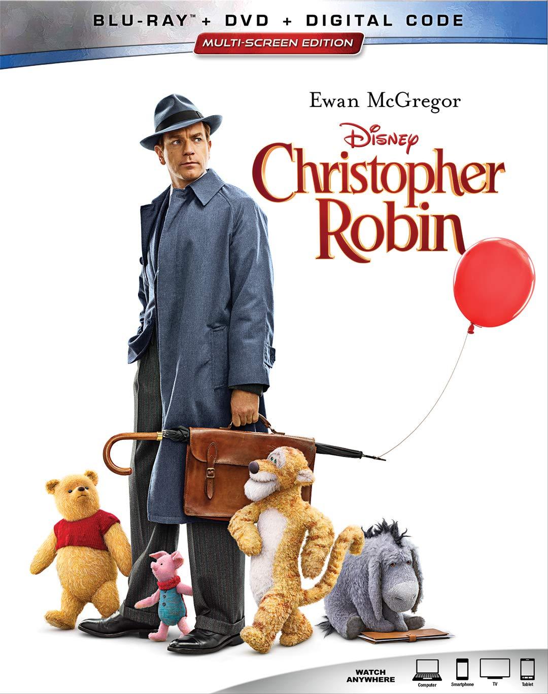 Christopher Robin (Blu-ray + DVD + Digital HD)