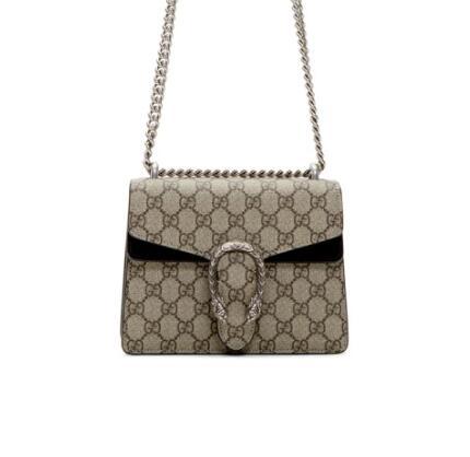 Gucci Mini Dionysus链条包