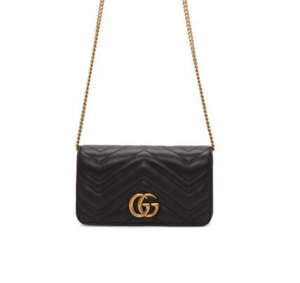 Gucci GG Marmont 2.0链条包