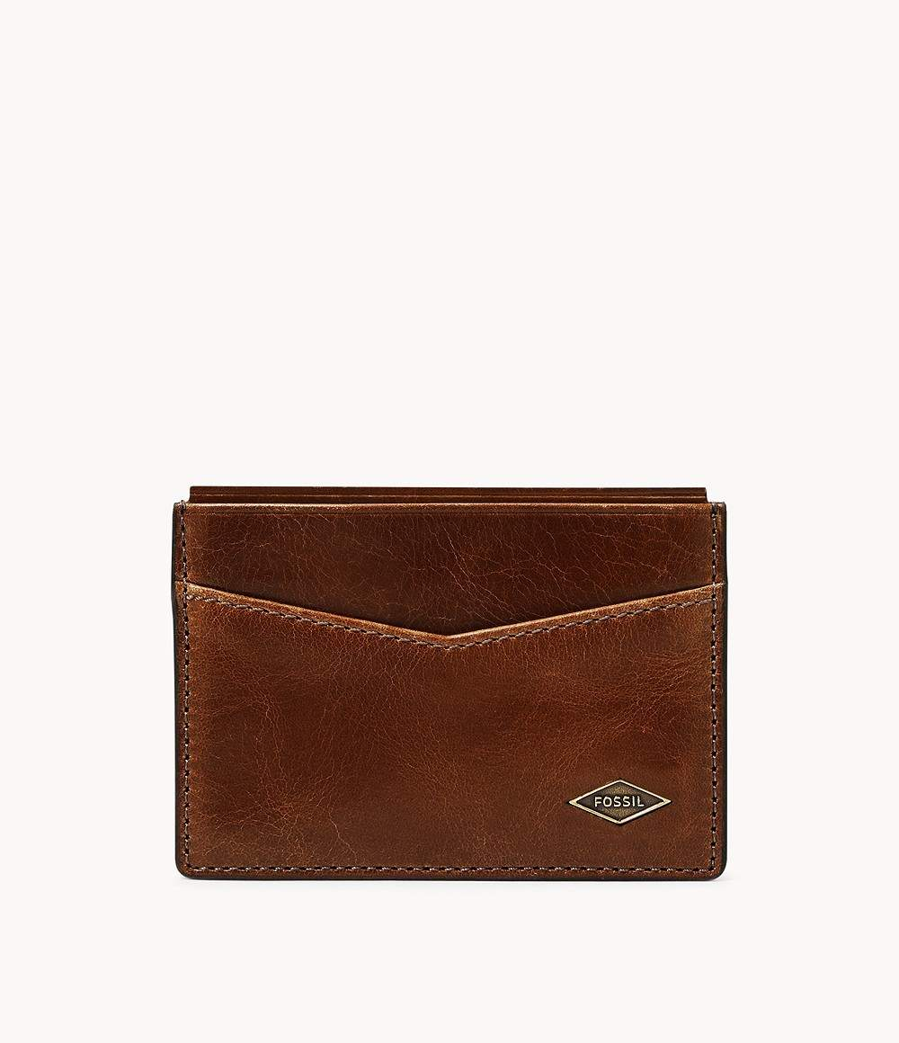 Fossil Up To 70% Off: Men's Belts (various styles) $11.40, RFID Card Cases