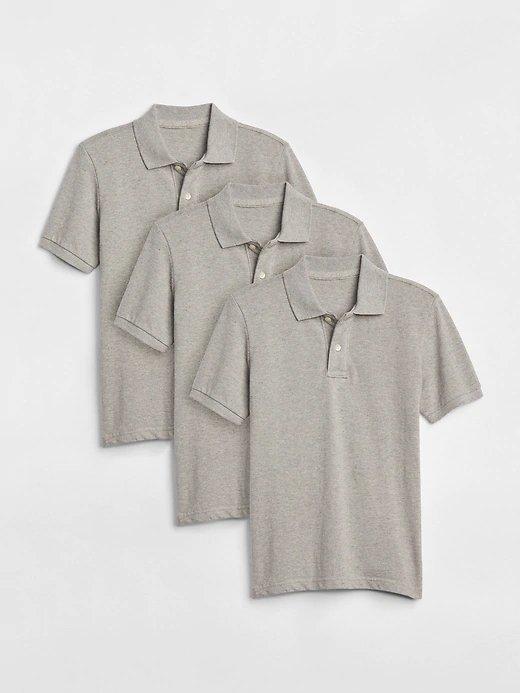 Star Wars Tee $6.50, Logo Senior Backpack $7, 3-Pk Boys' Uniform Polo (Gray)