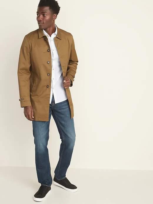 Old Navy Men's Built-In Flex Twill Mac Jacket