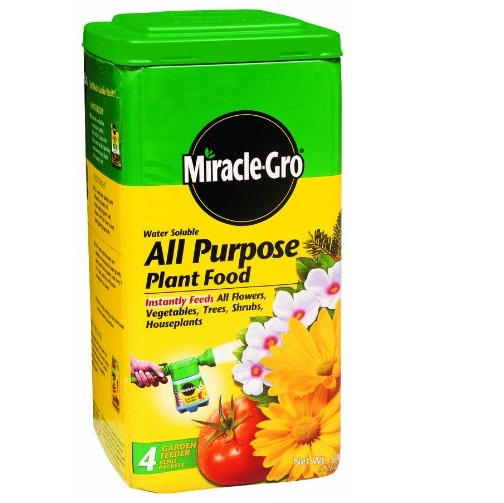 Miracle-Gro 1001233  Water Soluble All Purpose Plant Food, 5 lbs.