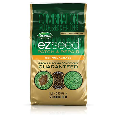 Scotts EZ Seed Patch and Repair Bermudagrass, 10 lb. - Combination Mulch, Seed, and Fertilizer