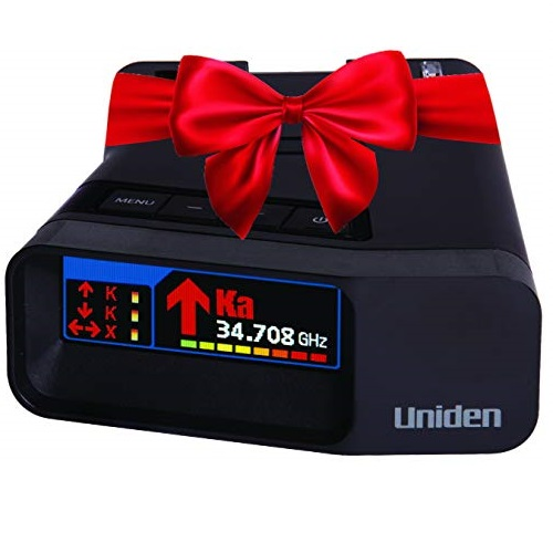 Uniden R7 Extreme Long Range Laser/Radar Detector, Built-in GPS W/Real-Time Alerts, Dual-Antennas Front & Rear W/Directional Arrows, Voice Alerts, Red Light Camera, Speed Camera Alerts