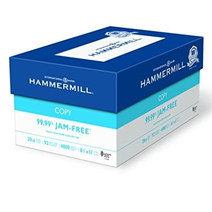 Hammermill Paper, Copy, 20lb, 8.5x11