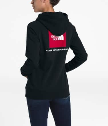 REI: The North Face Women's High Trail Crew Sweater or Red Box Pullover Hoodie