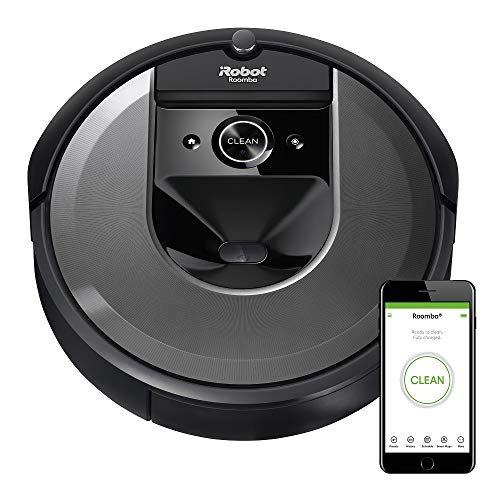 iRobot Roomba i7 (7150) Robot Vacuum- Wi-Fi Connected, Smart Mapping, Works with Alexa, Ideal for Pet Hair, Carpets, Hard Floors